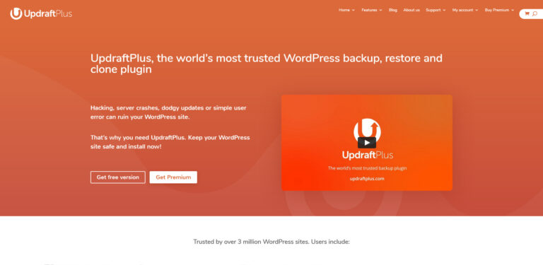 Updraft - Backup & Restore